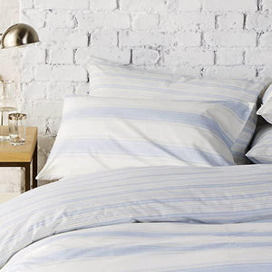 Vantona Easy Living Sheringham Duvet Cover Set - Blue