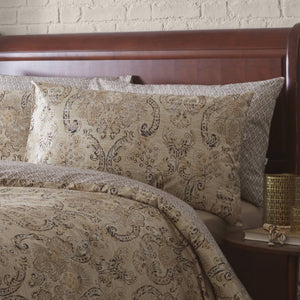 Vantona Fortuni Classic Design Duvet Cover Set - Multi