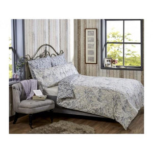 Vantona Liana Duvet Cover Set - Grey