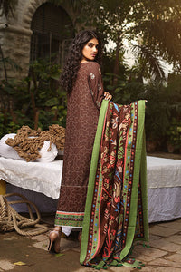 LSM Embroidered Winter Dress AE-6602 B - BROWN