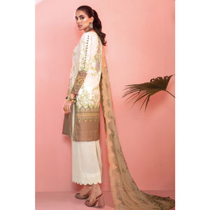 Printed Jacquard Unstitched 3 Piece Suit BCT-11