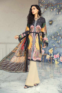 Ready to wear Gul Ahmed Embroidered Lawn 3 Piece Suit BM-104
