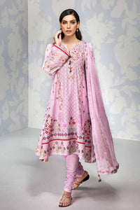 PINK UNSTITCHED 3 PC SUIT BM-146