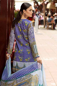 Gul AHmed Printed Lilac 3 Pcs BM-82 - PURPLE