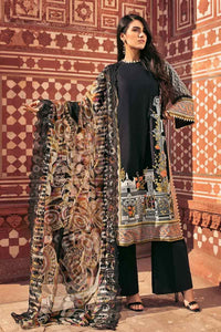 Gul Ahmed Embroidered Lawn Unstitched 3 Piece Suit CT-231