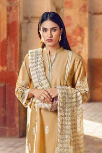 Ready to wear  Beige 3 PC stitched Suit CT-256
