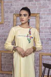 Ready to wear Embroidered Lawn Stitched Kurti By LSM-1768-ST