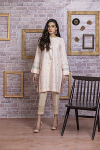 Ready to wear Embroidered Lawn Stitched Kurti By LSM-1714-ST