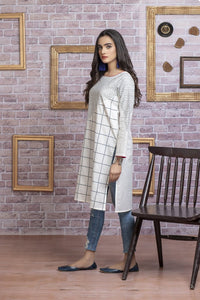 Ready to wear Embroidered Lawn Stitched Kurti By LSM-1710-ST
