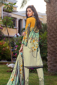 YELLOW UNSTITCHED 3 PC SUIT DCS-13