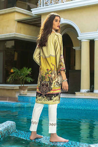 Gul Ahmed 1PC Embroidered Satin Shirt DCSS-08