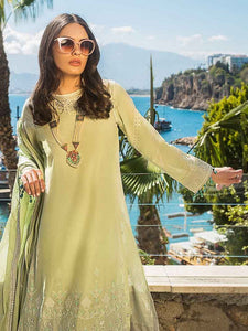 Gul Ahmed Luxury collection Parrot Green EA-80