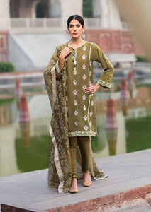 Gul Ahmed Luxury Collection GREEN EA-83