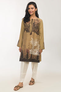 1PC-screen-printed and embroidered Kurti IDEAS-GLW-19-14-ST