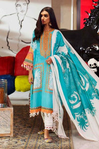 SANA SAFINAZ MAHAY 2 Piece Unstitched Ladies Lawn Suit H201-013B-G