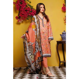 Gul Ahmed Baraan Mid Summer 2020 3 PC Unstitched Digital Printed Suit CL-992