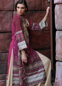 LSM Kantha Luxury Embroidered KN-514 - PINK