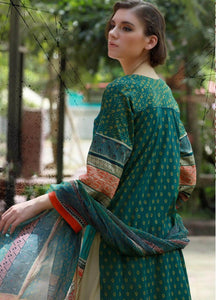 LSM Kantha Luxury Embroidered KN-512 - GREEN