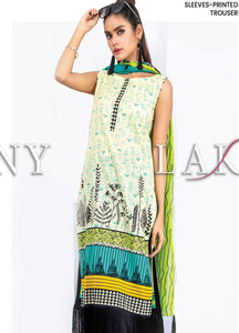 Komal by Lakhany Printed Lawn Unstitched 3 Piece Suit KP-2032