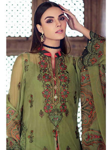 Ready to Wear Gul Ahmed 3 Pieces Stitched Suit LE-06 - Green