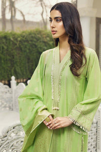 Green 3 PC Unstitched Suit LSV-05