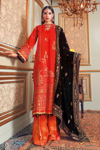 GulAhmed Maahru Collection Hand Embroidered 3PC Suit PRW-06