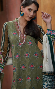 MAHAPAYKAR EXCLUSIVE EMBROIDERED COLLECTION ME-9905-B - GREEN