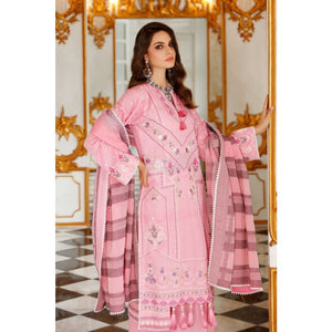 Gul Ahmed 3 PC Embroidered-Suit with Jacquard Dupatta FE-264