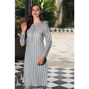 Gul Ahmed Cambric Printed Unstitched Shirt SCN-129 B