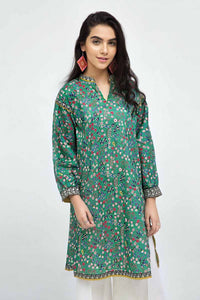 GREEN UNSTITCHED SINGLE SHIRT SCN-94