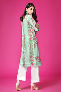 Gul Ahmed Sea Green 1 Pc Single Embroidered Lawn SL-418 C
