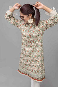 Green 1 PC Unstitched Shirt SL-740
