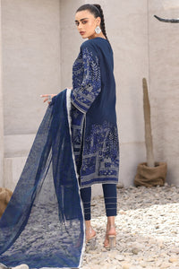 AL-KARAM STUDIO Spring Summer Vol 2(Duex) Three Piece Printed Suit With Fancy Net Dupatta SS-2-20-2-Purple