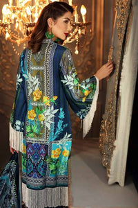 Gul Ahmed Velvet Blue 3 Pcs VL-80