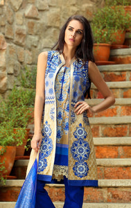 LALA EID COLLECTION VTS-004A - BLUE