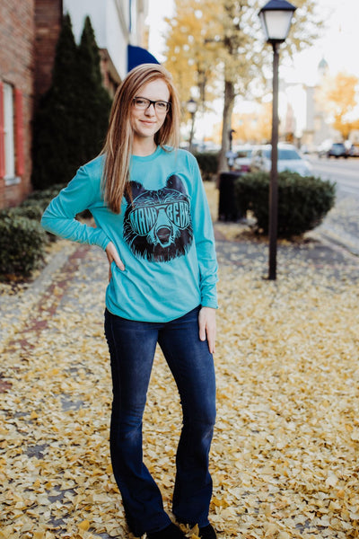 Mama Bear Long Sleeve Graphic T-Shirt