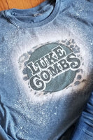 Luke Combs Bleached Graphic T-Shirt