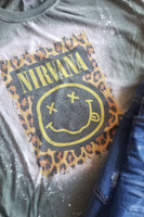 Nirvana Bleached Graphic T-Shirt