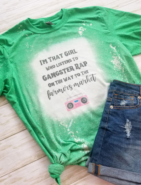 I'm That Girl... Gangster Rap Graphic Tee - The Pink Petal Boutique
