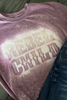 Rebel Child Bleached Graphic T-Shirt