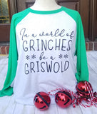 Grinches Green Christmas Raglan