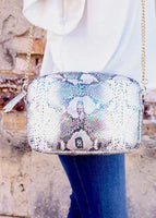 Millie Snake Multi Hologram Crossbody - The Pink Petal Boutique