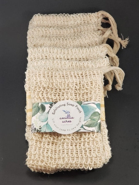 Exfoliating Soap Saver Bag