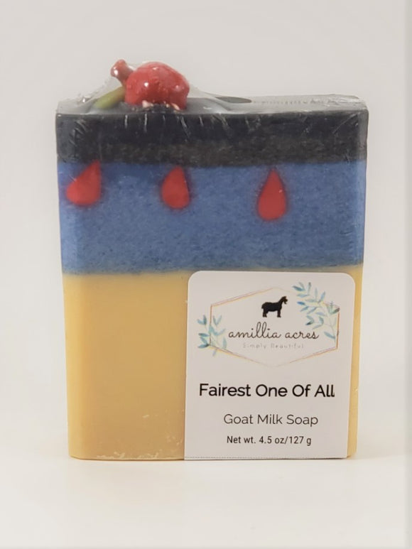 Enchanted Series - Fairest One of All Goat Milk Soap