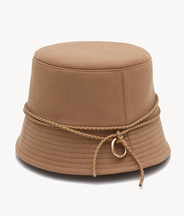 Lampshade bucket hat