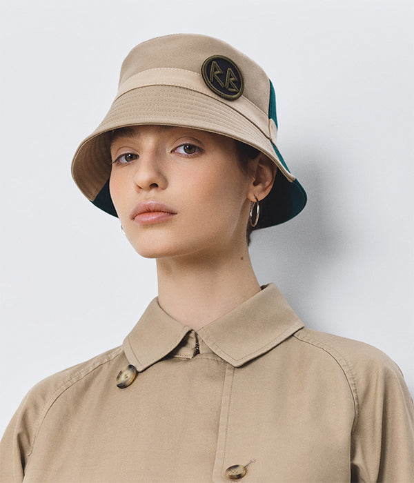Two-colored Bucket Hat (4678658326603)
