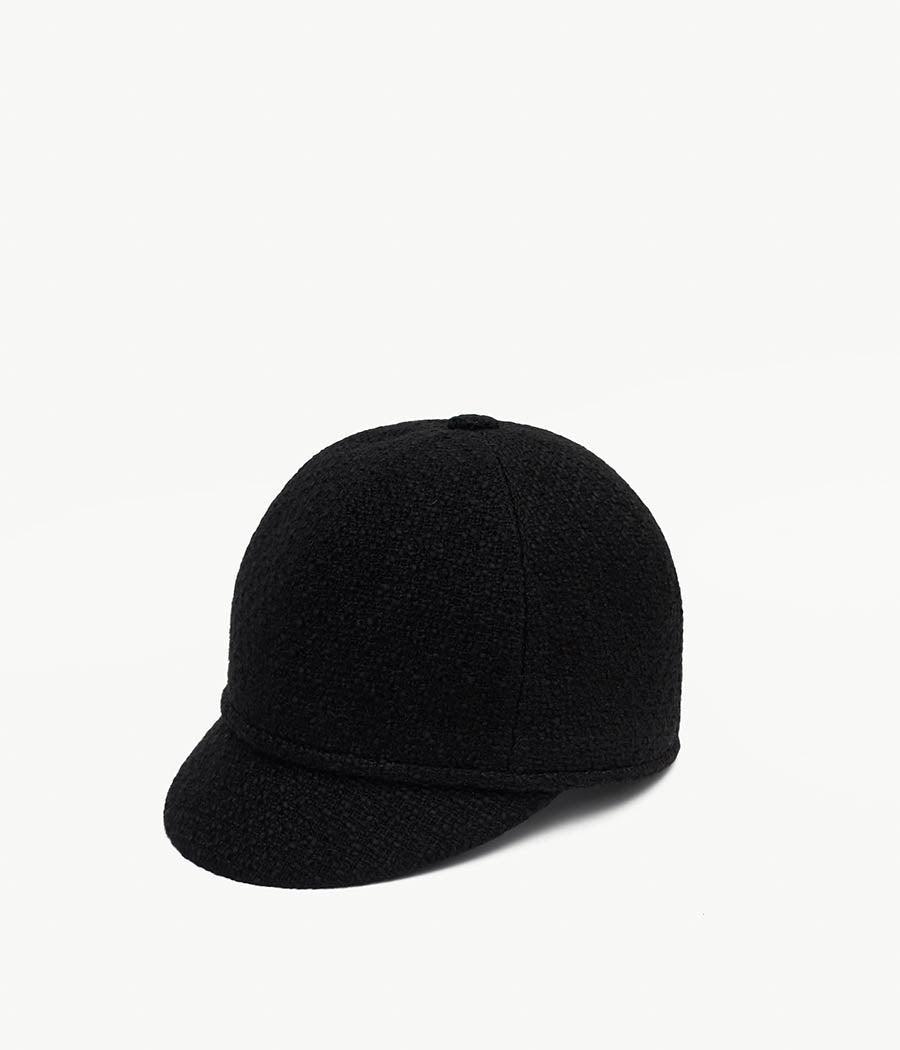 Black Cloche hat (4676672782411)