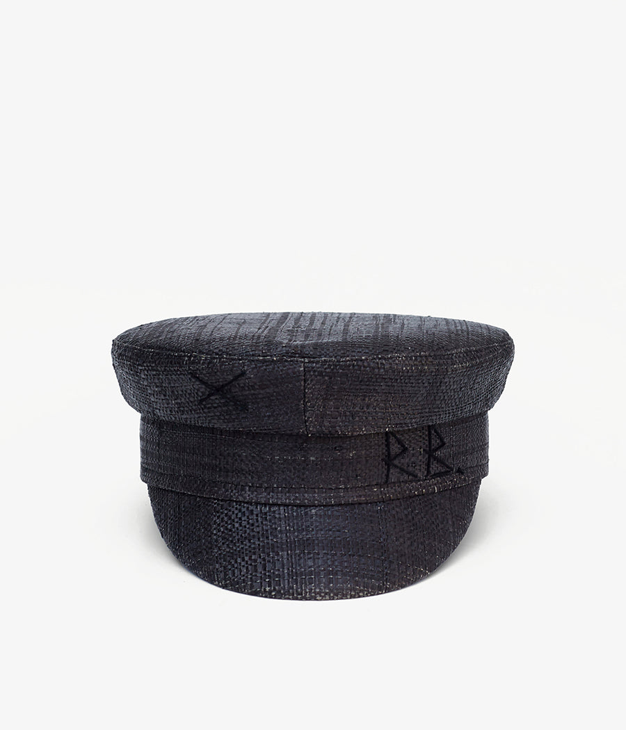 Straw baker boy cap (4604827566155)