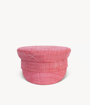 Straw baker boy cap (4604814065739)