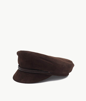 Leather-braid Cap